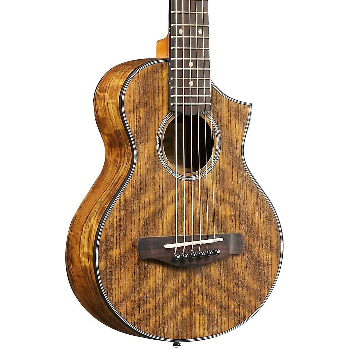 Ibanez EWP14OPN Exotic Wood Piccolo Acoustic Guitar
