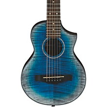 EWP32FM Piccolo Acoustic Guitar Blue Burst