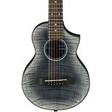 EWP32FM Piccolo Acoustic Guitar Transparent Black Sunburst