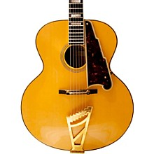 EX-63 Archtop Acoustic Guitar Natural