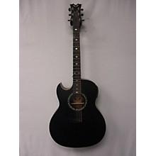 Dean EXBKS Exhibition Left Handed Acoustic Electric Guitar