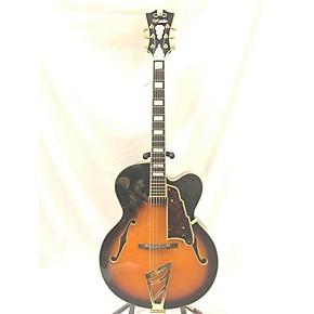 used d 39 angelico exl 1 hollow body electric guitar tobacco burst guitar center. Black Bedroom Furniture Sets. Home Design Ideas