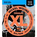 D'Addario EXL110W Nickel Regular Light Wound 3rd Electric Guitar Strings thumbnail