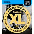 D'Addario EXL115W Nickel Blues/Jazz Wound 3rd Electric Guitar Strings thumbnail