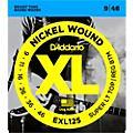 D'Addario EXL125 Super Light Top/Regular Bottom Electric Guitar Strings thumbnail