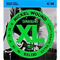 D'Addario EXL130 Nickel Extra Super Light Electric Guitar Strings thumbnail