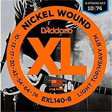 D'Addario EXL140 Light Top Heavy/Bottom 8-String Electric Guitar Strings