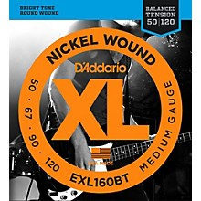D'Addario EXL160BT Balanced Tension 50-120 Long Scale Electric Bass String Set