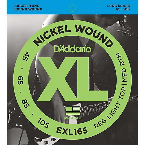 D'Addario EXL165 XL Nickel Round Wound Soft/Regular Bass Strings