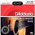 D'Addario EXP12 Coated 80/20 Bronze Medium Acoustic Guitar Strings thumbnail