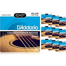 D'Addario EXP16 Acoustic Strings 10-Pack