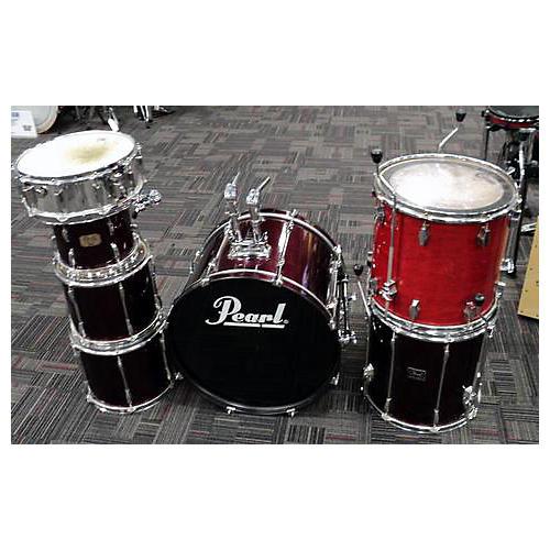 used pearl export series drum kit guitar center. Black Bedroom Furniture Sets. Home Design Ideas