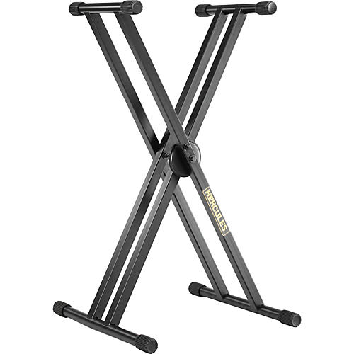 Hercules Stands EZ Lok Double Keyboard Stand