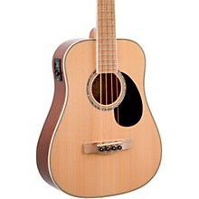 EZB Super Short-Scale Acoustic-Electric Bass Natural