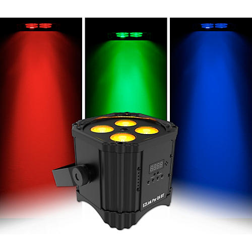 CHAUVET DJ EZLink Par Q4 BT RGBA LED Wireless Wash Light with Bluetooth