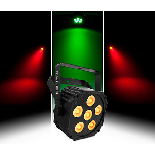 CHAUVET DJ EZLink Par Q6 BT Wireless RGBA LED Wash Light with Bluetooth