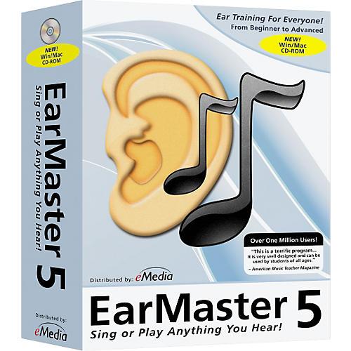 Emedia EarMaster Pro 5 CD-Rom - Home User Site License