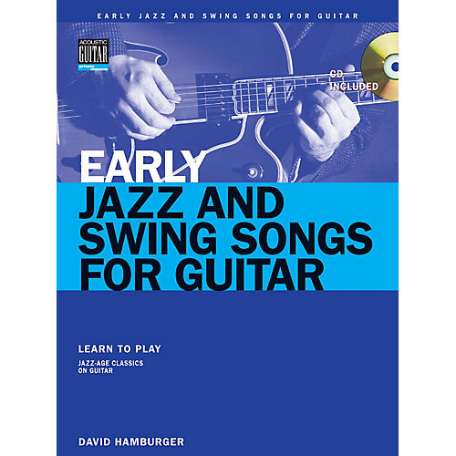 String Letter Publishing Early Jazz & Swing Songs String Letter Publishing Series Softcover with CD Performed by Various