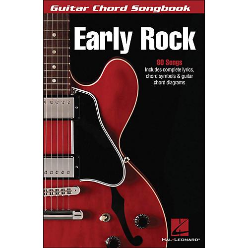 Hal Leonard Early Rock - Guitar Chord Songbook (6