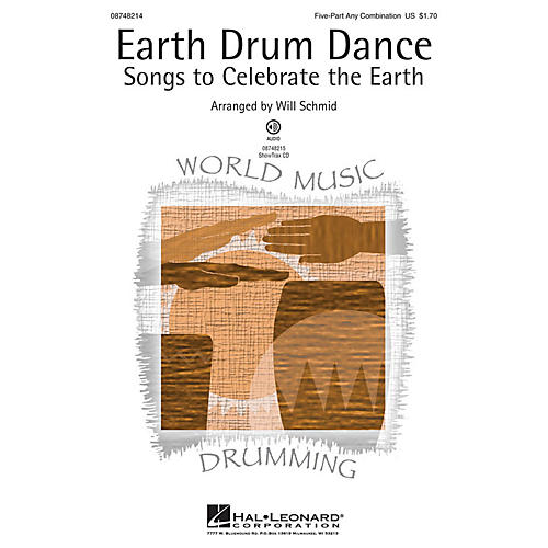 Hal Leonard Earth Drum Dance ShowTrax CD Arranged by Will Schmid