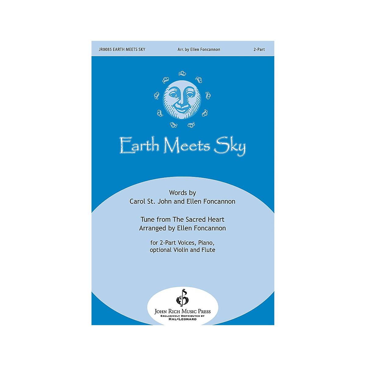 John Rich Music Press Earth Meets Sky 2-Part arranged by Ellen Foncannon