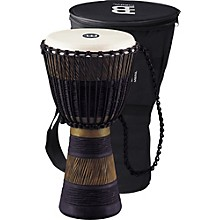 Earth Rhythm Series Original African-Style Rope-Tuned Wood Djembe with Bag Medium