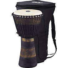 Earth Rhythm Series Original African-Style Rope-Tuned Wood Djembe with Bag