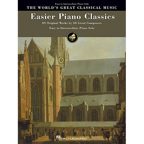 Hal Leonard Easier Piano Classics (89 Original Works by 28 Great Composers) World's Greatest Classical (Easy to Int)