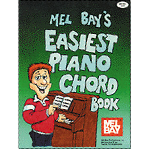 Mel Bay Easiest Piano Chord Book Guitar Center