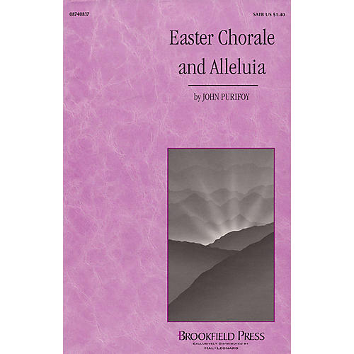 Brookfield Easter Chorale and Alleluia SATB composed by John Purifoy