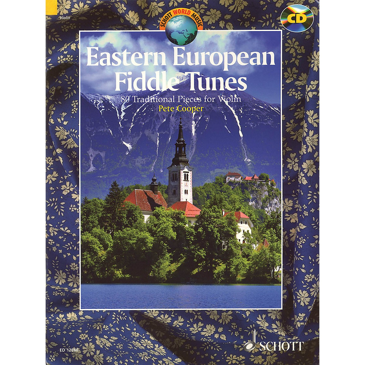 Schott Eastern European Fiddle Tunes (80 Traditional Pieces for Violin) String Series Softcover with CD