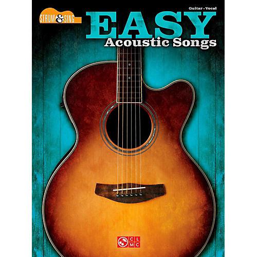 Hal Leonard Easy Acoustic Songs - Strum & Sing Guitar