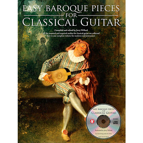 Music Sales Easy Baroque Pieces for Classical Guitar Music Sales America Series Softcover with CD