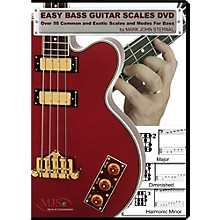 MJS Music Publications Easy Bass Guitar Scales (DVD)