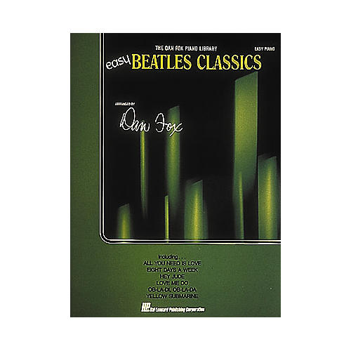 Hal Leonard Easy Beatles Classics - The Dan Fox Piano Library For Easy Piano