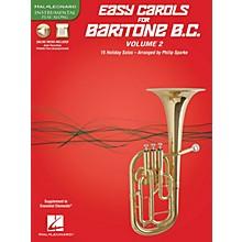 Hal Leonard Easy Carols for Baritone B.C. - Vol. 2 Instrumental Folio Series Softcover Media Online