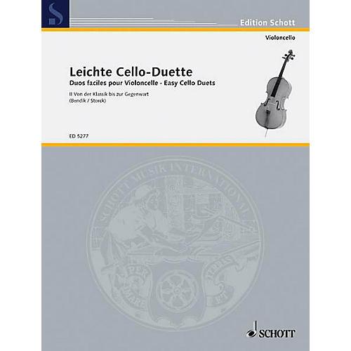 Schott Easy Cello Duets Vol. 2 Schott Series