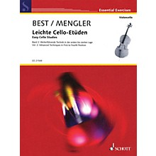 Schott Easy Cello Studies Volume 2 (Further Techniques in First to Fourth Position) String Series Softcover