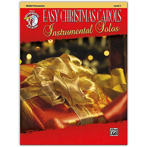 Alfred Easy Christmas Carols Instrumental Solos Mallet Book & CD