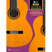 Hal Leonard Easy Classical Guitar Duets Book with CD