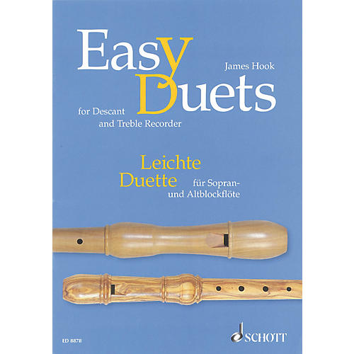 Schott Easy Duets Schott Series Softcover  by James Hook Arranged by Hans Magolt