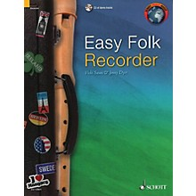Schott Easy Folk Recorder Woodwind Solo Series Softcover with CD