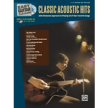 Alfred Easy Guitar Play-Along: Classic Acoustic Hits (Book/CD)