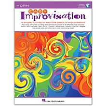 Hal Leonard Easy Improvisation for Horn Book/Audio Online