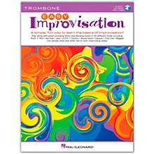 Hal Leonard Easy Improvisation for Trombone Book/Audio Online