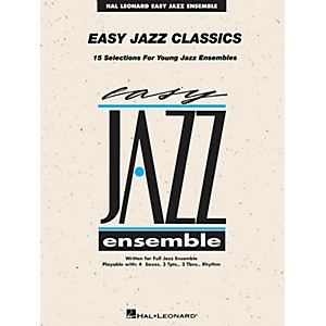Hal Leonard Easy Jazz Classics - Trombone 1 Jazz Band Level 2 by Hal Leonard