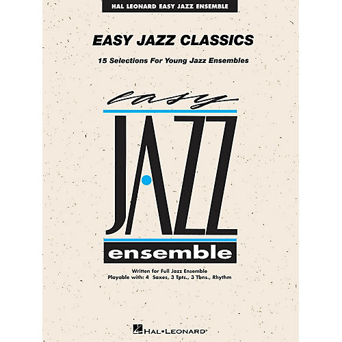 Hal Leonard Easy Jazz Classics - Trombone 3 Jazz Band Level 2