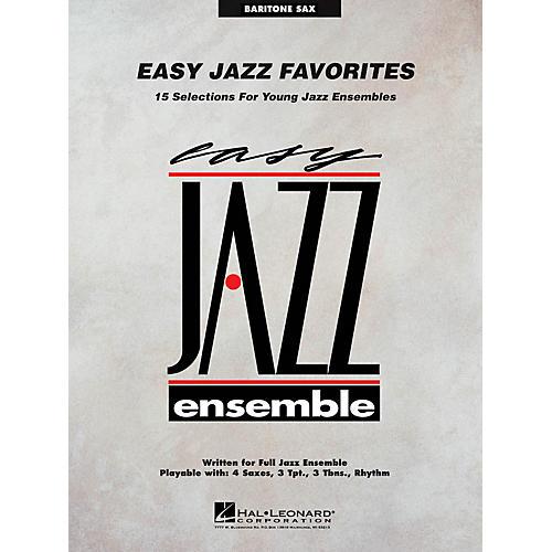 Hal Leonard Easy Jazz Favorites - Baritone Sax Jazz Band Level 2 Composed by Various