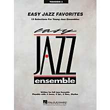 Hal Leonard Easy Jazz Favorites - Trombone 2 Jazz Band Level 2 Composed by Various