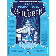 Music Sales Easy Piano Pieces for Children (Everybody's Favorite Series) Music Sales America Series Softcover